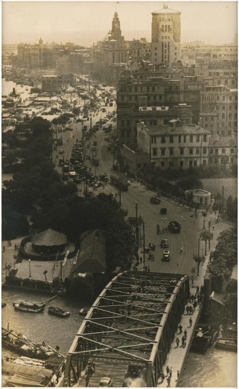 典藏圖片 - 英國租借區與白渡橋