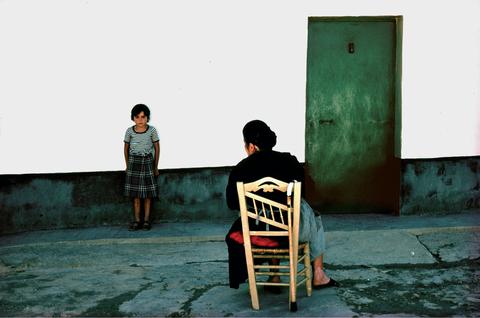 典藏圖片 - 少女與祖母,西班牙