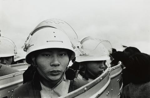典藏圖片 - 機場事件鎮暴憲兵