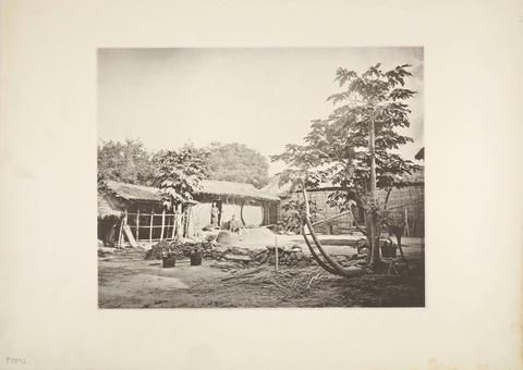 典藏圖片 - 平埔族人,木柵(台南新市區)