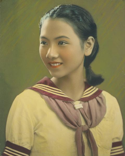 典藏圖片 - 日治時期女學生